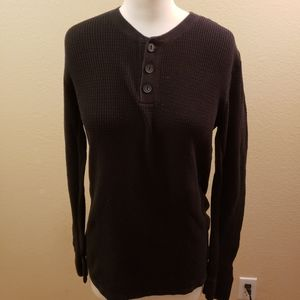 Vince long sleeved thermal shirt. Size M